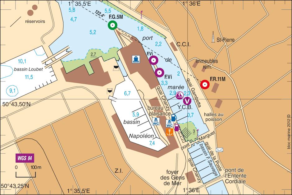 plan q Boulogne-sur-Mer