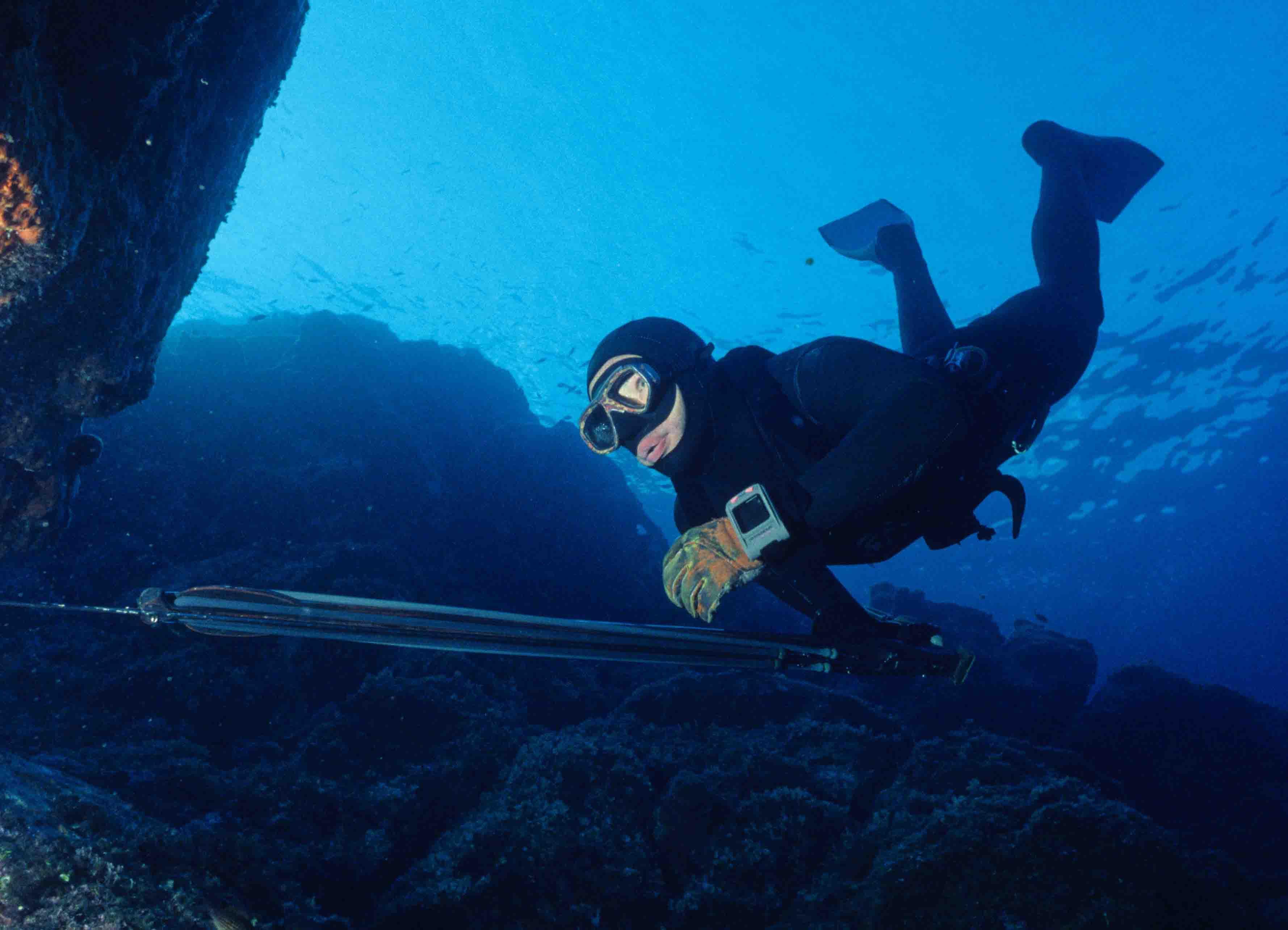 Chasse sous marine en CorseMarc Breysse Début des pêches hivernale 2015